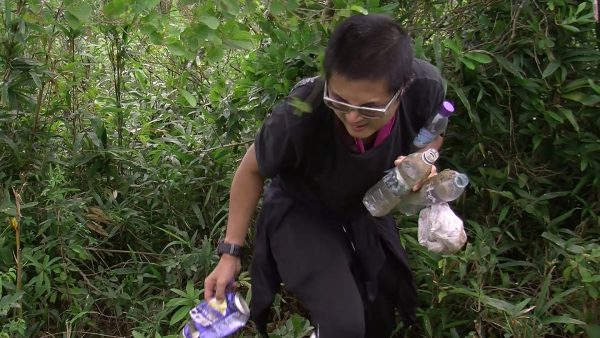 Treasure hunt in Hong Kong's mountains